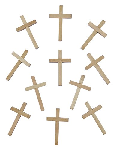 Small Wooden Crucifix Crosses One Pack of 40 Pieces 2
