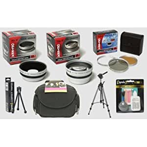 Opteka HD² Pro Digital Accessory Kit for Canon PowerShot A640 A630 A620 A610