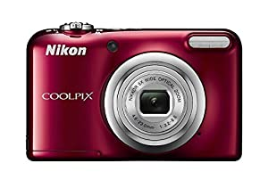 Nikon Coolpix A10 16MP Digital Camera (Black) International Model No Warranty