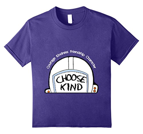 Price comparison product image Kids Choose Kind Shirt Teacher Student Anti Bullying T Shirt 10 Purple