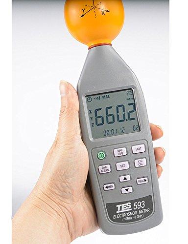 EMF Meter tes-593: Amazon.es: Amazon.es