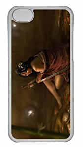 Customized iphone 5C PC Transparent Case - Sword Personalized Cover