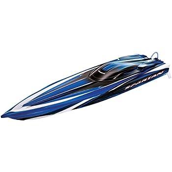"Traxxas Spartan: 36"" Race Boat with TQi 2.4GHz Radio & TSM, Blue"