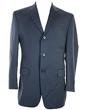 Calvin Klein Navy Pinstripe Jacket 40R