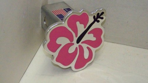 Hibiscus Hitch Cover Flower Hitchcover Pink ()