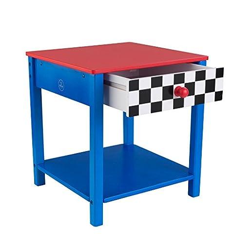 KidKraft Race Car Side Table