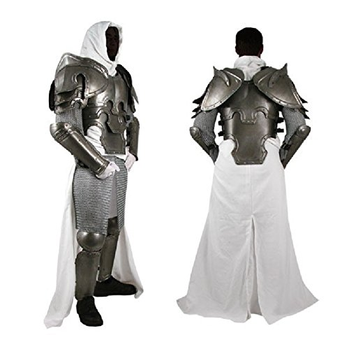 NAUTICALMART Conquest Warcrafted Armour Silver One Size by NAUTICALMART (Image #1)