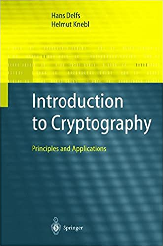 Book Introduction to Cryptography
