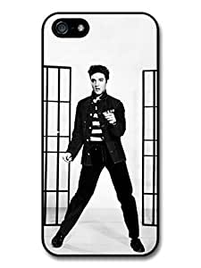 Elvis Presley Jailhouse Rock King of Rock & Roll case for iPhone 5 5S A606 by runtopwell