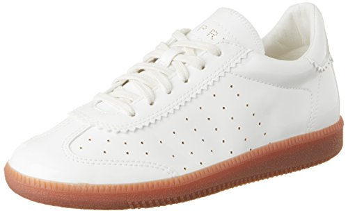 Esprit Trainee Lace Up, Zapatillas para Mujer Blanco (white 100)