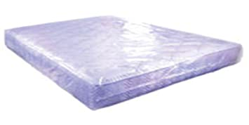 plastic mattress protector. Large Strong Heavy Duty Plastic Polythene King Size Mattress Cover Bag Dust Protector Removal Storage: Amazon.co.uk: Kitchen \u0026 Home M