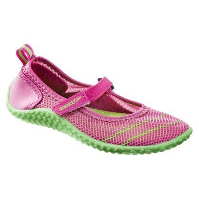 004852a35f8c Speedo Toddler Girls  Mary Jane Water Shoes Pink   Green - Small (5-6) -  Buy Online in UAE.