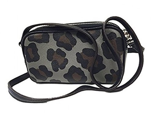 Bag Ocelot Print in Body PVC Pouch Cross F53421 Coach 1zvqOO