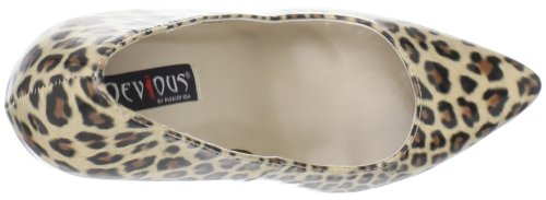 Pump Sexy Pu Women's Brown 20 Print SPCP Tan Cheetah Pleaser 5Igx1Zwqw