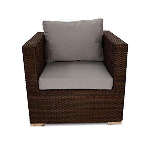 Denby cubo de silla de mimbre al aire libre muebles de ...