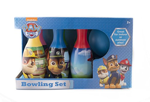 Top recommendation for bowling set for kids paw patrol