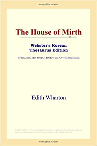 Download E-books The House of Mirth (Webster's Korean