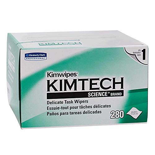 Kimberly-Clark 34120 KIMTECH Science KIMWIPES Delicate Task Wipers, 4.4