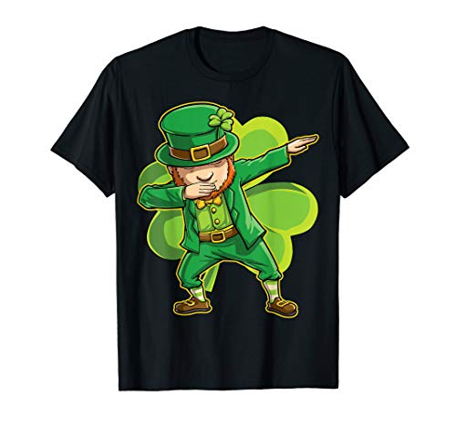 St Patrick Day Costume Ideas (Dabbing Leprechaun Shirt Women Men St Patricks Day Kids)