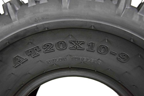 2 Set MASSFX 20X10-9 Dual Compound EOC20109 ATV Tires Rear 6 ply 20x10x9 2 Pack by MASSFX (Image #3)