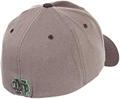 a9ffa5fd67039 ... Hat Cap Size Medium Large. Zephyr University of Notre Dame Fighting  Irish ND Grey Swell DHS Leprechaun Adult Mens Fitted Baseball. Loading  Images.
