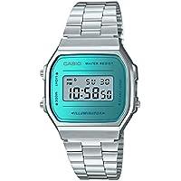 5fe543e4329 Relógio Casio Vintage Digital Unissex A168WEM-2DF