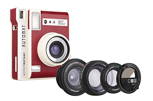 Lomography Lomo'Instant Automat South Beach + 3 Lenses - Instant Film Camera (Film Camera Lomography)