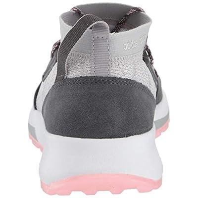 adidas Women's Quesa, Grey/Grey/True Pink, 6.5 M US | Road Running
