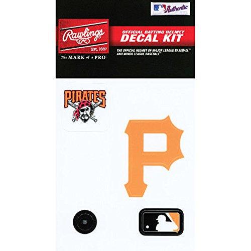 Rawlings Sporting Goods MLBDC Decal Kit, Pittsburgh Pirates