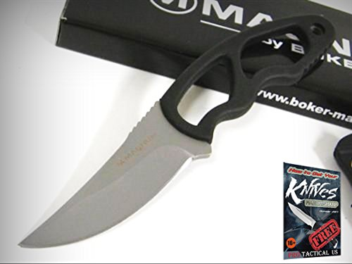 Magnum Neck Flash (BOKER MAGNUM 02MB210 Neck Flash Knife + Sheath! MB210 + free eBook by ProTactical'US)