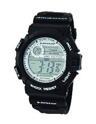 Dunlop DUN-216-G01 - Men's Watch, plastica, color: Black
