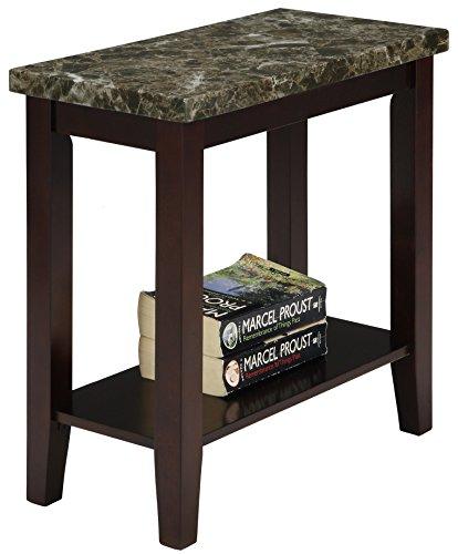 Amazon Com Crown Mark Ferrara Chair Side Table Kitchen