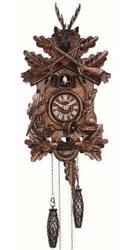 Anton Schneider Quartz Cuckoo Clock Hunting clock, with music