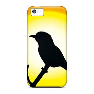 (NVy1817YEnL)durable Protection Case Cover For Iphone 5c(bird At Sunset)