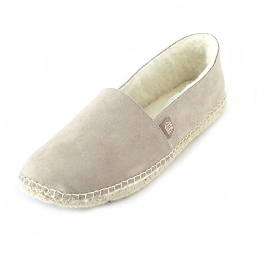 ESPADRIJ L'ORIGINALE WoMen Open Back Slippers Beige (Sable)