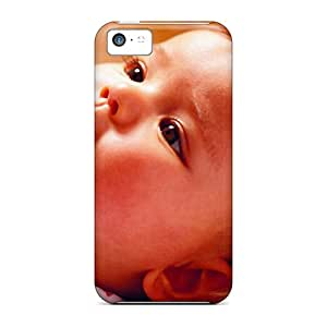 Hot Snap-on Cute Baby Wallpaper Hard Cover Case/ Protective Case For Iphone 5c