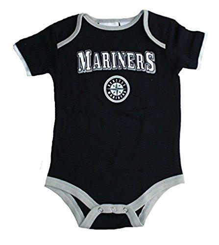 配送員設置 Seattle – Mariners幼児12ヶ月チームロゴボディスーツ Seattle – Navyブルークリーパー B071XTSY6H B071XTSY6H, 福袋:22590da8 --- a0267596.xsph.ru