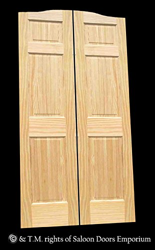Cafe Doors by Cafe Doors Emporium | Full Height Pine Rais...