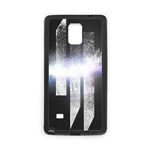 Skrillex caso U3Q27M5LO funda Samsung Galaxy Note 4 funda RXTC3P negro