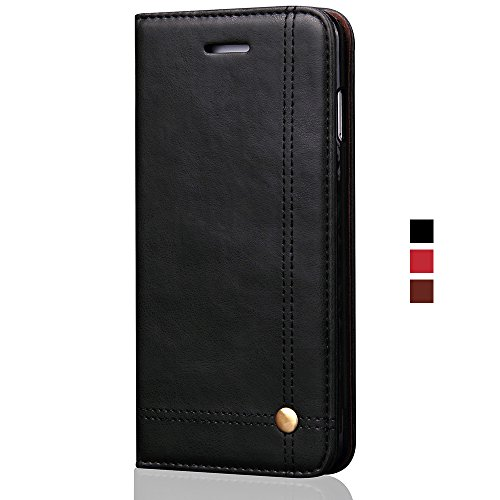 leather wallet flip cover case for samsung galaxy s9 plus