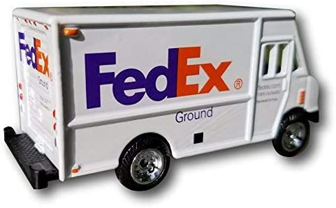 FedEx Ground Delivery Truck 3 Scale 1:64