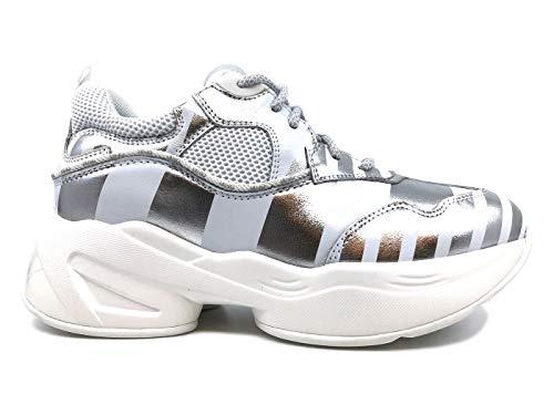 Jo 06 Sneaker Jog In Pelle Liu White H1whnrpvcq Donna Bianca Kcu3FJl1T