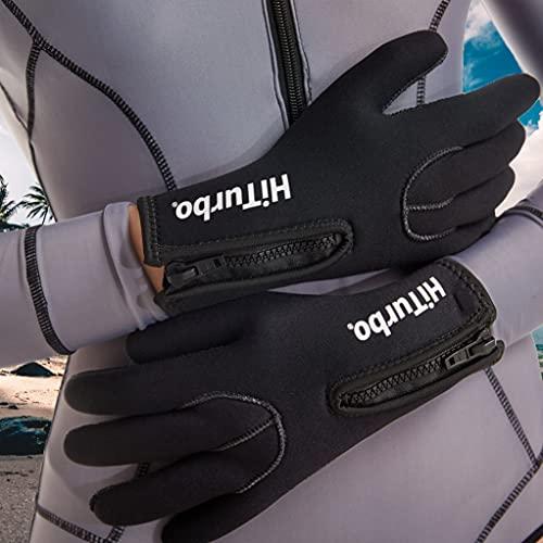 Neoprene Gloves Diving Wetsuit Gloves 3.5mm,Scuba Thermal Anti-Slip Gloves for Diving,Surfing,Kayaking,Snorkeling,Boating