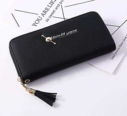 Image Unavailable. Image not available for. Color  Fashion Lady Women  Leather Clutch Wallet Long Card Holder Case Purse ... 60ba1a2755