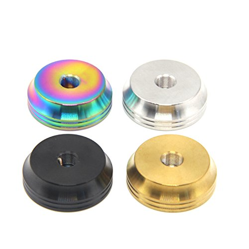 (Stainless Steel metal Stand Base stand Holder for 510 thread RDA RBA DIY station building deck 4PCS (Multi))