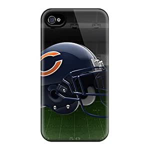 MqAGk8441fclcW Case Cover, Fashionable Iphone 4/4s Case - Chicago Bears Helmet