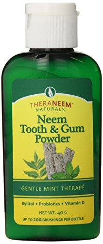 TheraNeem Toothpowder, Mint, 40 Gram