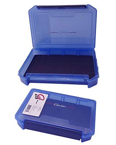 blue Alloy Fly Fishing Box 10 Grid Flies Case Lure Simulation Fish Bait Box ❤