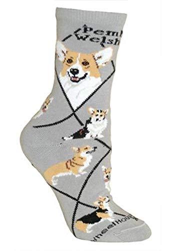 Pembroke Welsh Corgi Puppy Dog Breed Animal Socks 9-11