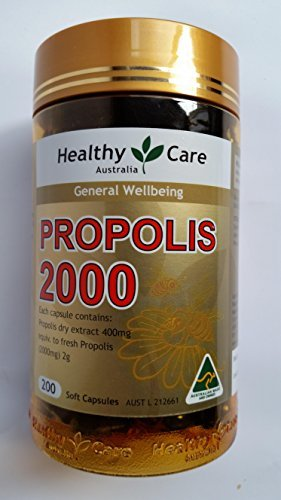 Healthy Care Propolis 2000mg 200 Capsules (Australia Import) by Healthy Care (Image #1)